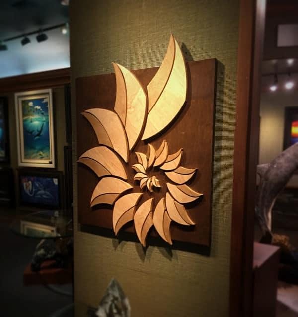 Fabulous SHELL | Coastal Decor Home Items | Wood Art | Laguna Beach Art Gallery GT46