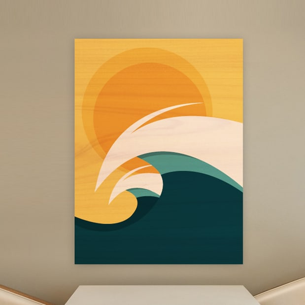 WOOD PRINTS & Surf Decor u0026 Wood Wall Sculptures | Surf Artwork by Shaun Thomas