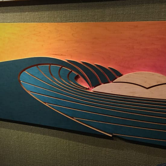 Wave Art - Shaun Thomas - surf art - wave decor - surf decor - wave designs - surf interior - beach decor - beach interior - waves - wave art - home decor