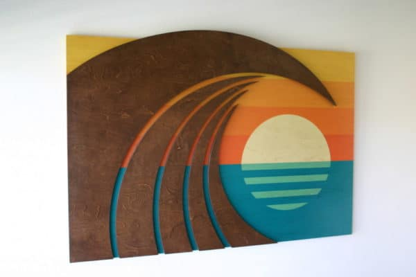 Wave Art - Shaun Thomas - surf art - wave decor - surf decor - wave designs - surf interior - beach decor - beach interior - waves - wave art - home decor - San Diego - Orange County - San Clemente - Laguna Beach