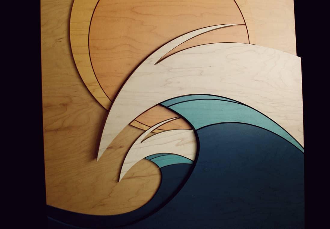 COASTAL INSPIRED WOOD WALL ART